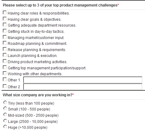 Product Management Challenges Poll